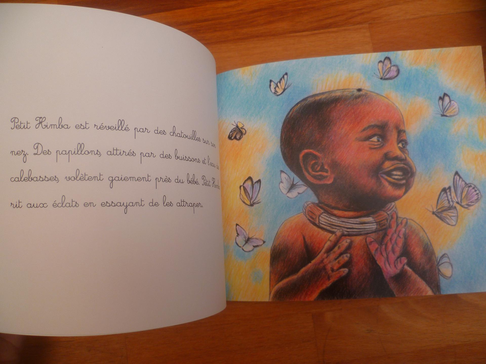 Petit Himba couleur chocolat