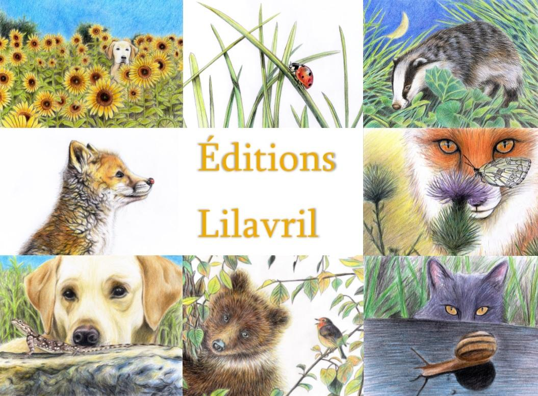Logo editions lilavril 1